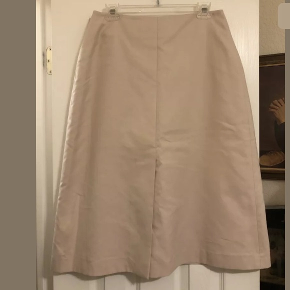 Akris Dresses & Skirts - Fabulous Akris nude color skirt size 12